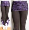 jersey women's pants flounce design, fit sexy leg pants skirts and pants