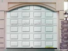CE cert. garage door panel,sectional garage door with single track hardware