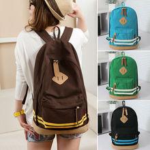 NEW Women Girl Unisex Travel Backpack Canvas Leisure Bags School bag Rucksack SV002164