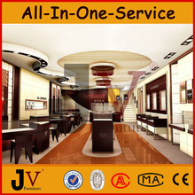 ONLY Customized jewellery shops interior design images for store or jewellery shop fitting