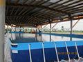 Ao ar livre piscina armação de metal/acima do solo piscina metal