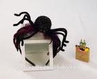 spider headband with purple feather halloween accessaries