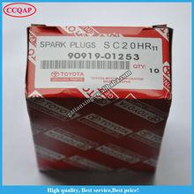 Genuine Denso Iridium Spark Plug for Toyota Lexus Crown Camry Corolla Rav4 OEM 90919 01253 / SC20HR11