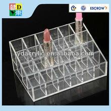 Pop up display acrylic nail polish rack,acrylic cosmetic display rack