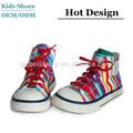 2014 moda vulcanizada sapatas de lona moda Casual sapato criança