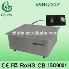 shenzhen manufactuer vertial kitchen equipment teppanyaki grill