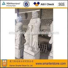 Chinese Buddha Story Statue <the Eight Immortals (in the legend)> Granite Statue Sculpture -- Iron Crutch Li