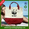 fashion eco-friendly 100% cotton shopping tote bag