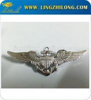 Metal Brass Pilot Wing Badges