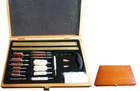 Universal Gun Cleaning Kits with Wooden Case