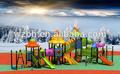 juguetes del parque de atracciones, equipo en el campo de juego al aire libre, Zona de juegos