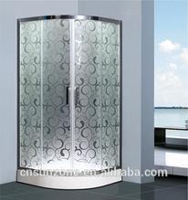 Stainless steel round shower enclosure/room/bathroom