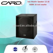 """high end 600W 18"""" woofer speaker home cinema"""