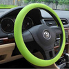 2014 the best for car decoration colorful silicone steering wheel cover