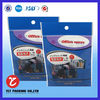 NO. 1950 OPP header plastic bags with hanger hole