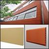 terracotta tiles exterior cladding panel shading skirting siding cladding floor paver curtain wall