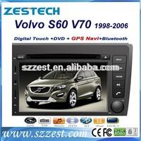 ZESTECH oem dvd double din car dvd player for volvo s60 v70 gps navigation