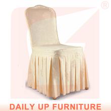 Ess-sitzauflage für stuhl geraffte stuhlabdeckung rüsche chiavari stuhlhussen für hochzeiten