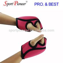 Exercise hand weight gloves Gym wrist weight gloves Sports hand gloves