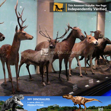 My dino-equipment landscapers deer animal figurines life size anime