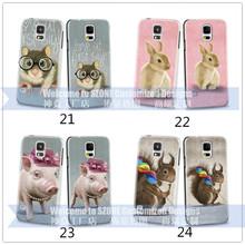 Diseño animal encantador para Samsung Galaxy S5 2D de tapa dura caja de venta al por mayor made in China