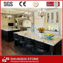 Luxury Home Kitchen Counter/Island Top Synthetic Quartz Stone SQC084