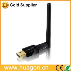 Desktop/laptop/server use wireless wifi receiver adapter 300Mbps 802.11N technology