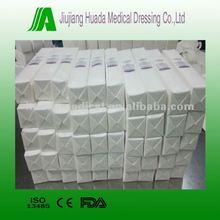 5cm 7.5cm 10cm non-sterile medical gauze sponge