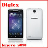"""5.0"""" QHD IPS Lenovo S890 MTK6577 Dual Core 1.2GHz 2250mAh battery 8.0MP Camera android phones"""