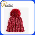 مشمس تلميع صور من الصوف في فصل الشتاء قبعات الكروشيه حك