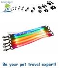 Lovoyager nylon dog leash with LED flashing light