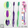 professional adult toothbrush supplier&FDA best quality & designed toothbrush for adults&adult toothbrush with tongue cleaner