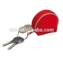 Fashion PU mini coin purse with key ring