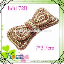 new handmade rhinestone shoe clip for lady flat shoe