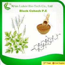 Natural Black Cohosh extract/ Triterpenoid saponins powder