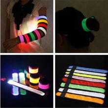 2016 Newest Promotion Product LED Slap Armband for Sport