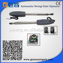 piston driving swing gate opener door operator solar system