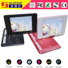 4:3 wide screen portable DVD player with TFT screen
