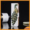 Diamond Leather PU Love Seashells/Dancing Girl/Peacock/Pearl Flower/Iron Tower new style phone case For Samsung S4,diamond case