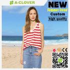 China bulk sell custom unisex clothes stripe fabric
