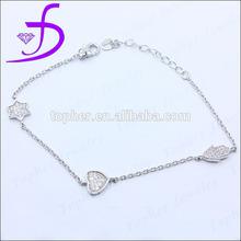 925 sterling silver middle east bracelet factory wholesale charm bracelet