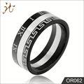 fabricante atacado grego estilo anel de casamento
