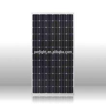 High quality Perlight Monno solar panel, Cheap price solar panel system,High efficiency mono pv solar panel