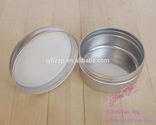 aluminum food grade screw jar can,sugar salt coffee tea canister container