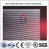 twin wall crystal pc sheet/hollow pc sheet