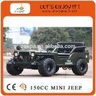 150cc mini jeep willys
