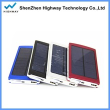 Portable Charger Battery Mobile iphone Power Bank 10000mAh Solar Panel