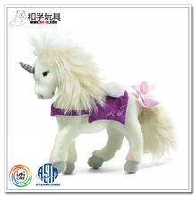high quality stuffed animal plush toy unicorn