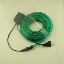 rechargeable battery for led light China manufacture christmas 2 Wires 3 Wires RGB rice rope light green rope lights