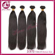 Natural color mixed length low price straight human hair 5a grade cheap 100% brazilian virgin hair